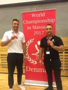 World Championship in Massage 2017 in Copenhagen, Denmark.
